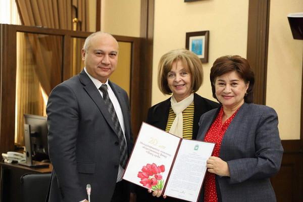 В ТПП Республики Узбекистан прошла международная узбекско-российская конференция «Международное гуманитарное сотрудничество. Опыт и перспективы»