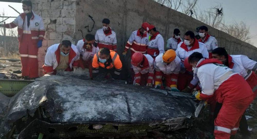Иран Украинанын учагын кандайча атып алганын түшүндүрдү