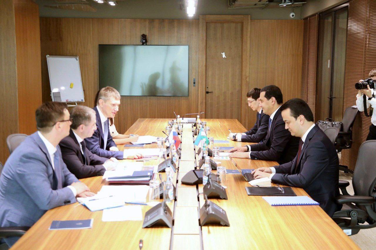 Узбекистан и Россия определили приоритеты дальнейшего развития инвестиционного и торгово-экономического сотрудничества