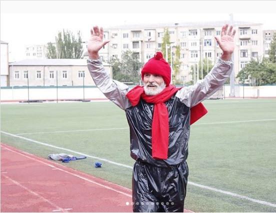 Дагестан: пенсионер беш саатта 10 килограммга жакын салмак таштаган