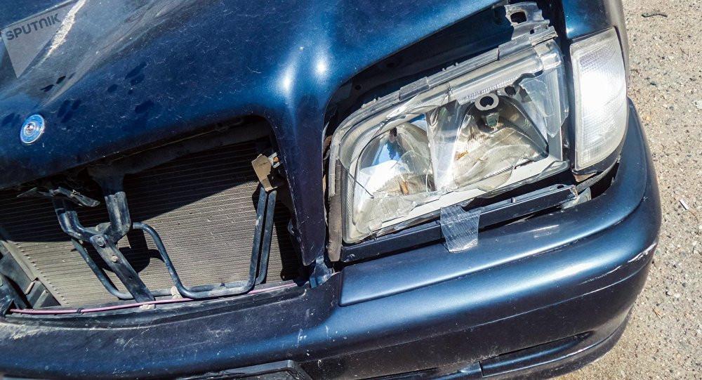 Кочкордо жылкы сүзүп кырсыктаган автоунаадагы 19 жаштагы кыз каза болду