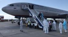 В Бишкек из России прибыла еще одна группа медиков — помогать в борьбе с коронавирусом
