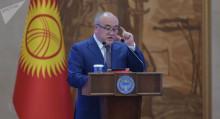 Текебаев: өлкө башчынын милдетин аткарган премьер президенттик шайлоого катыша албайт