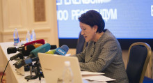 Шайлдабекова: президенттик жана парламенттик шайлоону бир күндө өткөрсө болот
