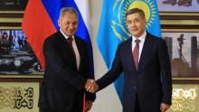Казахстан и Россия подписали договор о военном сотрудничестве