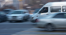 Бишкекте айрым маршруткалардын айдоочулары жумушка чыккан жок
