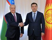 Абдулазиз Камилов и Садыр Жапаров обсудили перспективы сотрудничества