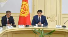 Марипов: министрлер кабинети өзгөчө кырдаал абалында күнү-түнү иштейт